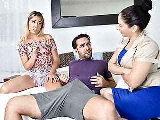 Supervised Stepsibling Sex